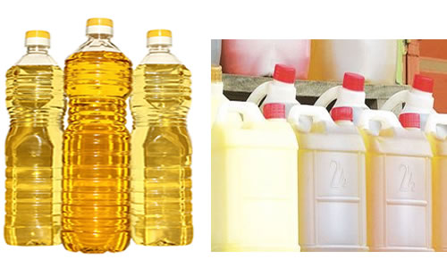 Unbranded vegetable oil
